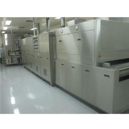 隧道式高溫乾燥滅菌機 (Class 100 Type) - 隧道式高溫乾燥滅菌機 (Class 100 Type)