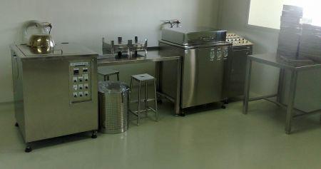 Semi-Automatic Ampul & Vial Washing Machines Tray Type - Semi-Automatic Ampul & Vial Washing Machines Tray Type