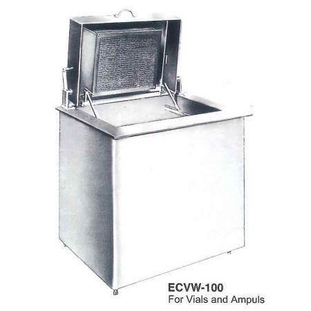 Máy rửa chai tự động (Loại khay) (Dành cho Lọ & Ampoules) - Máy giặt Ampul & Lọ tự động Loại khay