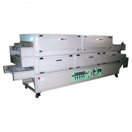 Continuous Feeding I.R. Oven