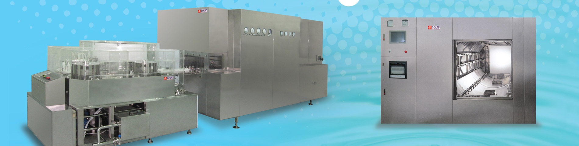Fully Auto. LVP / Injection / Oral Liquid Manufacturing Equipment