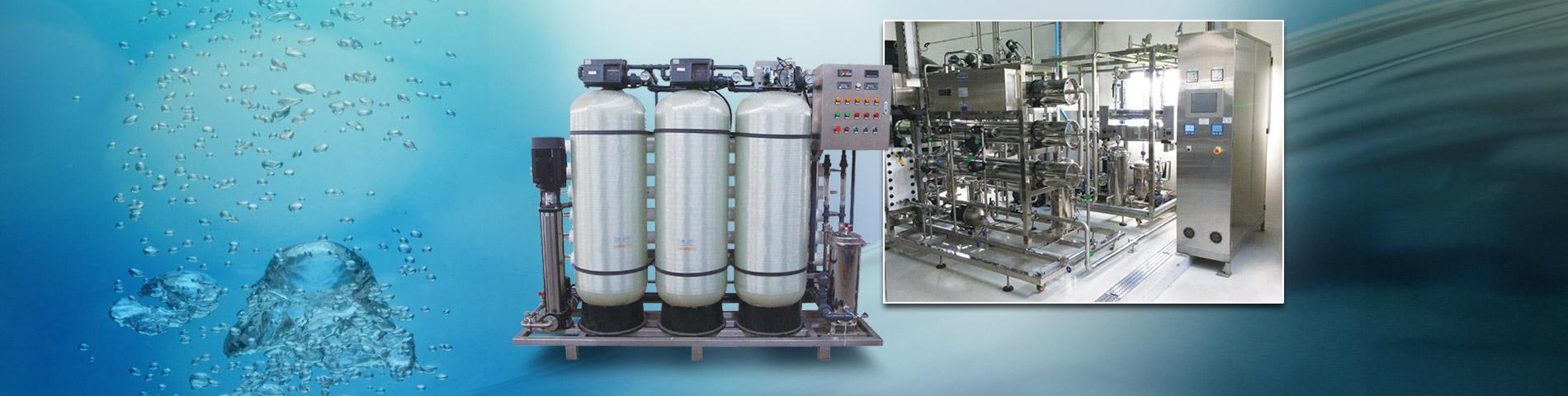 نظام مائي (WFI، RO + EDI)