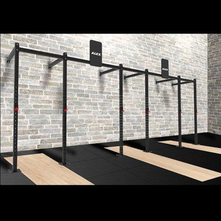 鎖牆式功能性訓練架 - 交叉訓練架