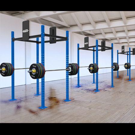 獨立式功能性訓練架 - 交叉訓練架