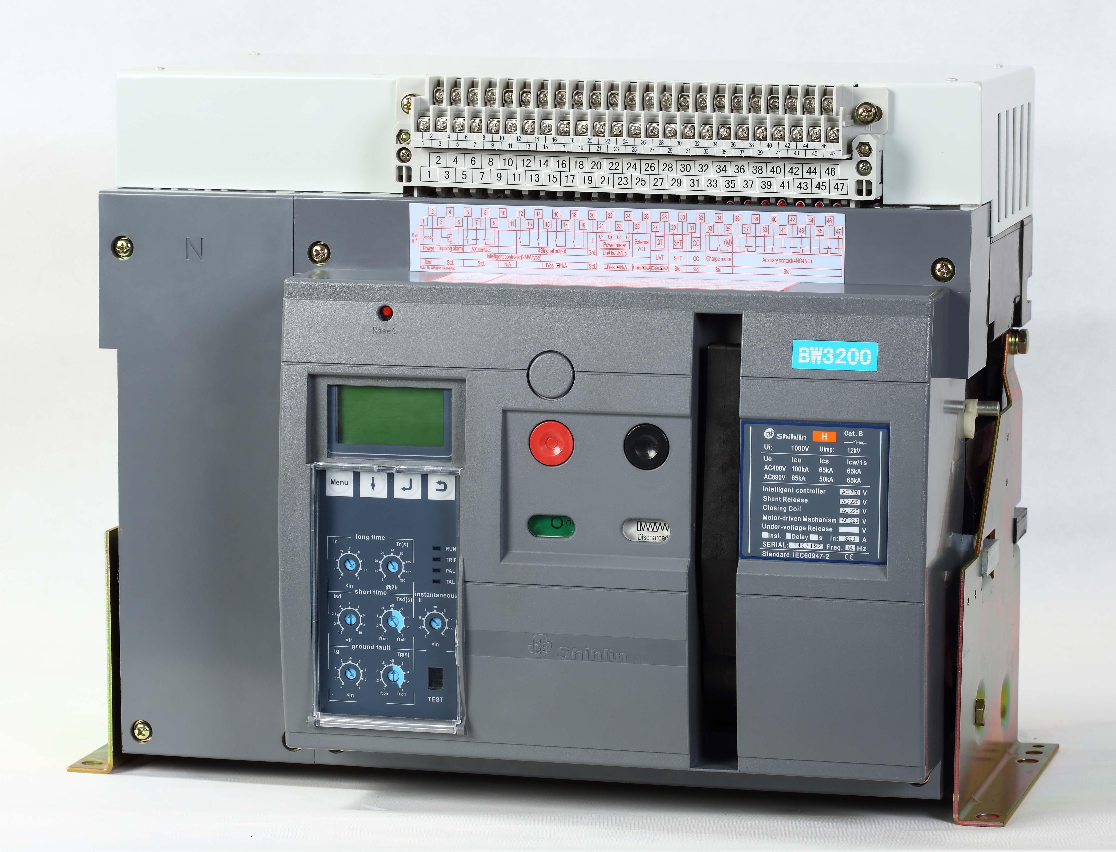 Máy cắt không khí Shihlin Electric BW-3200