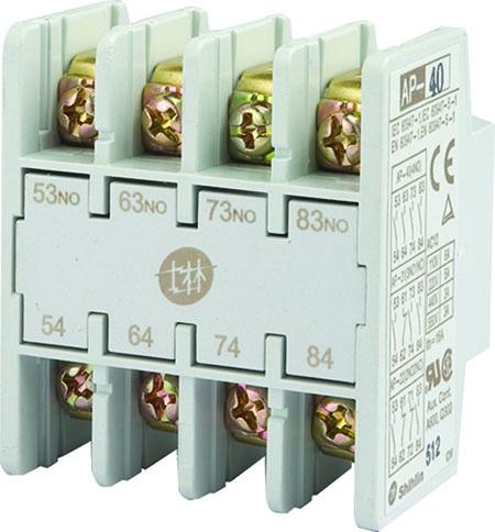 Blok Kontak Bantu Shihlin Electric Tipe Depan AP-4P