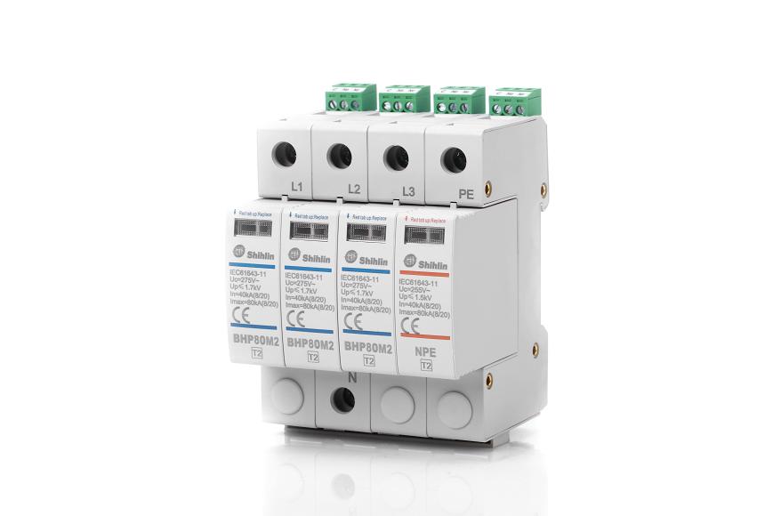 Dispositivo de protección contra sobretensiones Shihlin Electric BHP80M2