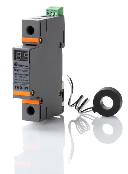 Shihlin Electric Surge Dispositivo de Proteção Contador TAD-99