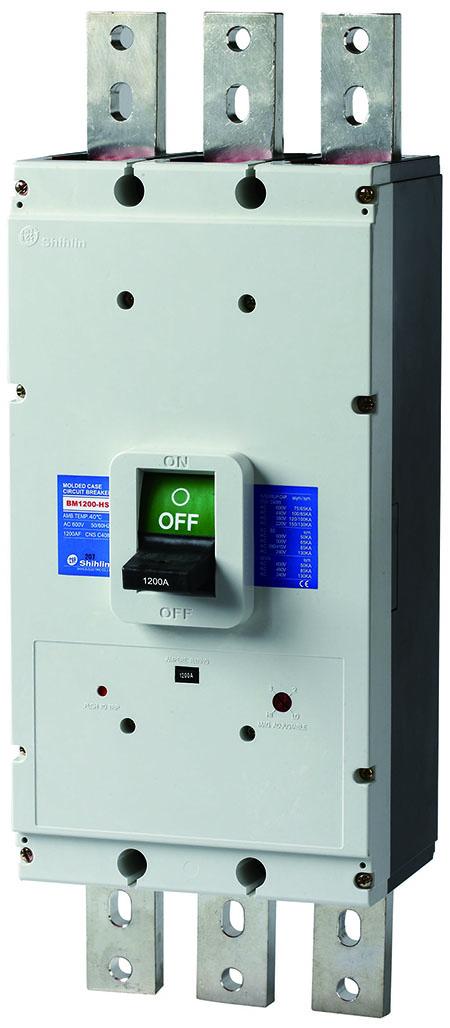Disjuntor em caixa moldada Shihlin Electric BM1200-HS