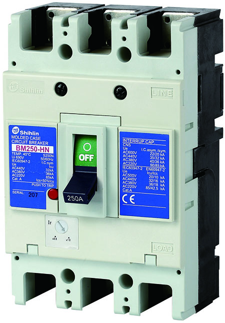 Shihlin Electric Molded Case Circuit Breaker BM250-HN
