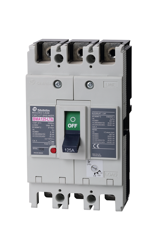 Shihlin Electric Molded Case Circuit Breaker BMA125