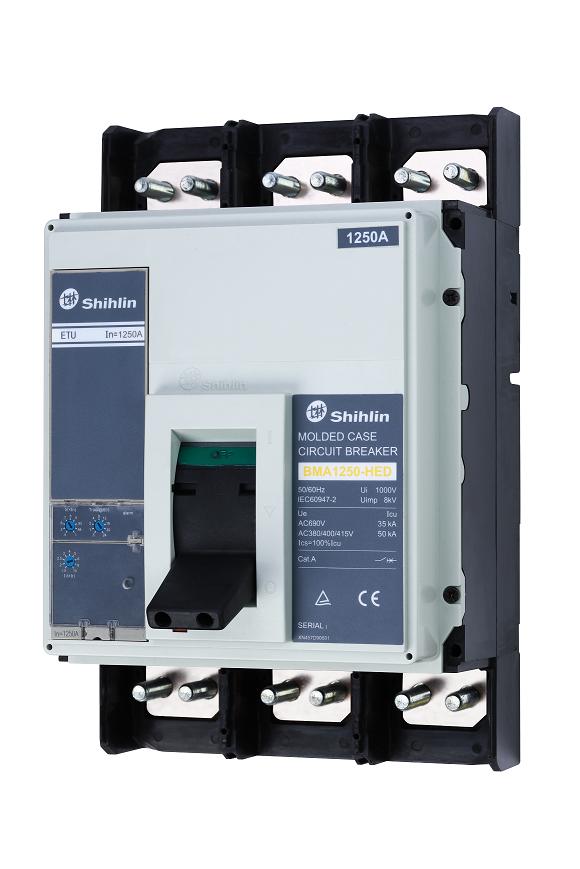 Shihlin Electric Molded Case Circuit Breaker BMA1250