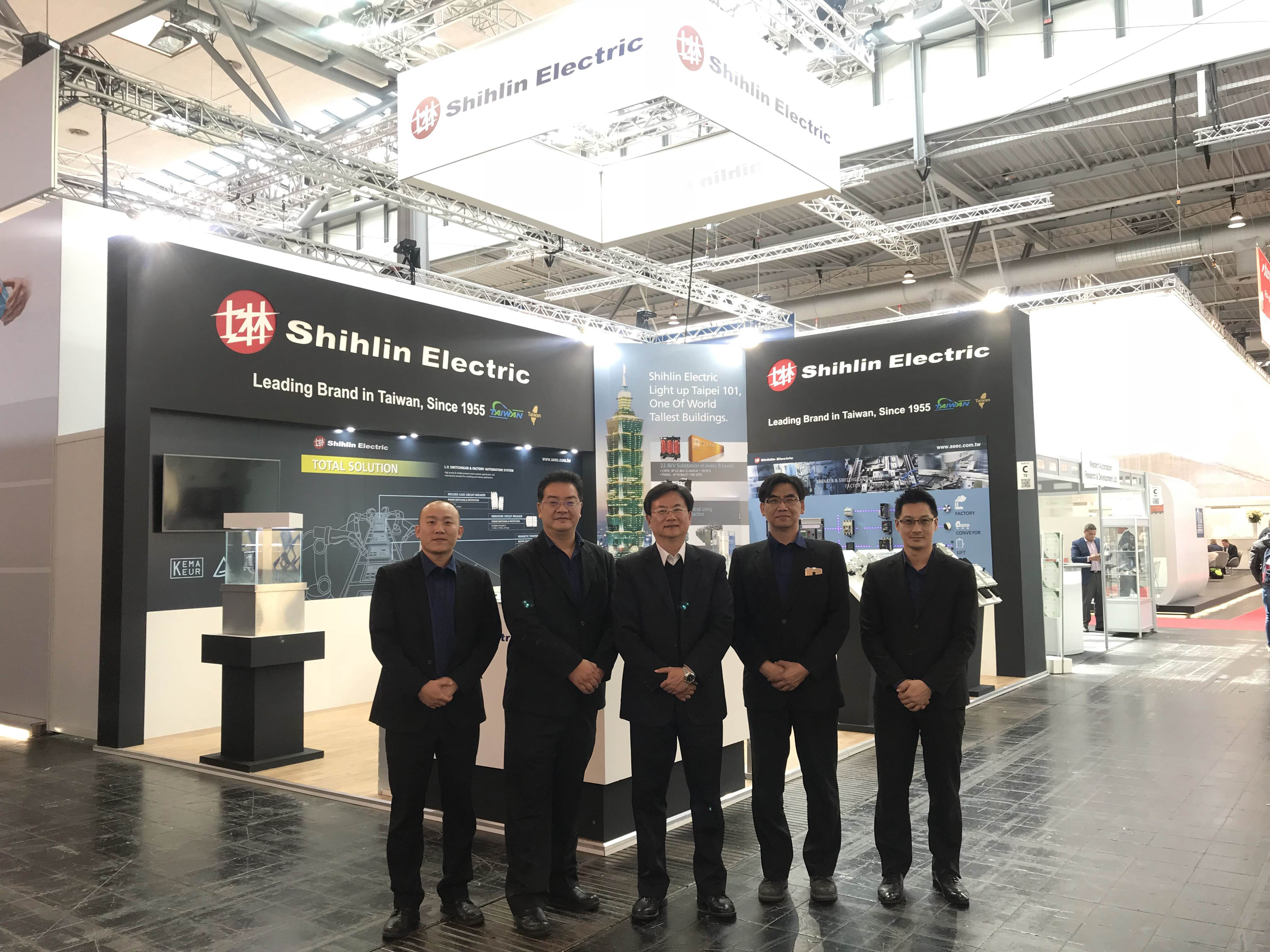 Shihlin Electric participate 2018 Hannover Messe