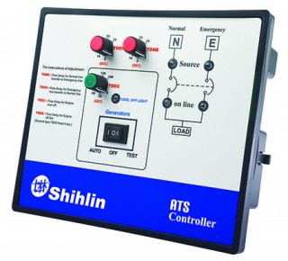 Controlador de disco ATS de transferência automática - Shihlin Electric Controlador de Disco ATS para MCCB tipo ATS