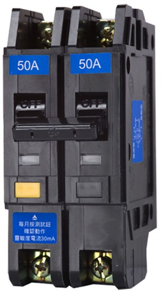 Earth Leakage Circuit Breaker - Shihlin Electric Earth Leakage Circuit Breaker BL-50L