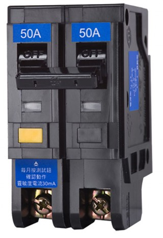 Earth Leakage Circuit Breaker - Shihlin Electric Earth Leakage Circuit Breaker BLP-50UL