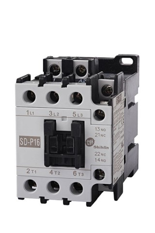 Contactor magnético - Contactor magnético Shihlin Electric SD-P16