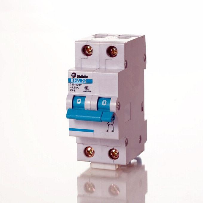 Wyłącznik automatyczny Shihlin Electric IEC typu europejskiego