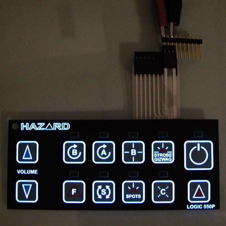 冷光板 - 冷光板薄膜按鍵