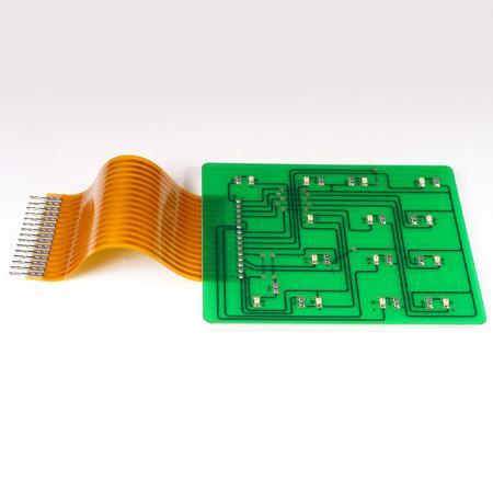 Tryckt kretskort - PCB monterad med FPC