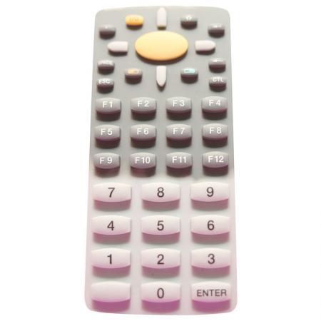 Tastiera in gomma siliconica - Gomma assemblata con PCB