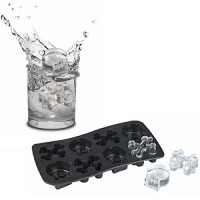 Silicon rubber ice cube tray
