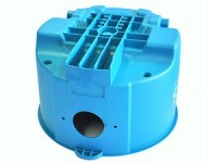 Plastic vacuum machine plastic body