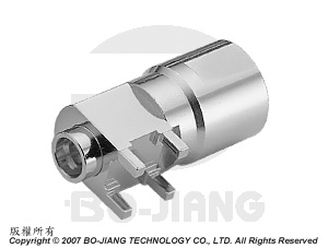 Adaptor SPC MALE TO FME MALE PCB MOUNT PLUG - Adaptor SPC Plug to FME PCB Mount Plug