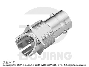 BNC - PCB, END LAUNCH