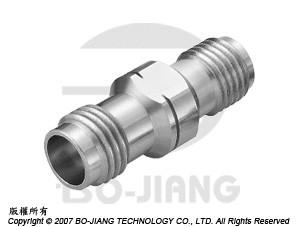 1.85豪米母端對2.92毫米(K波段)母端射頻微波同軸轉接器 - Adaptor 1.85mm Jack to K (2.92mm) Jack