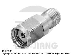 1.85豪米公端對2.92毫米(K波段)母端射頻微波同軸轉接器 - Adaptor 1.85mm Plug to K (2.92mm) Jack