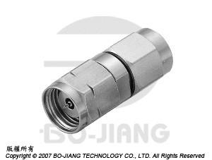 1.85豪米公端對2.92毫米(K波段)公端射頻微波同軸轉接器 - Adaptor 1.85mm Plug to K (2.92mm) Plug