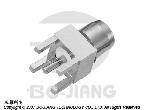 BMA PCB MOUNT PLUG - BMA PCB Mount Plug