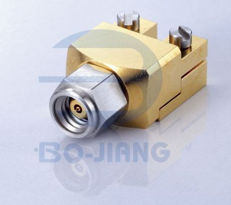 1.0mm Male End Launch Cpnnector - 1.0mm Plug solderless Edge Launch for PCB, DC TO 110GHz