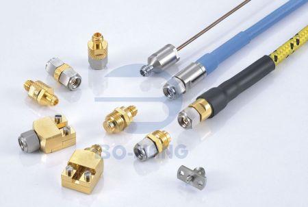 1.0mm(W Band) 同軸連接器 - 1.0毫米(W 波段)同軸連接器系列