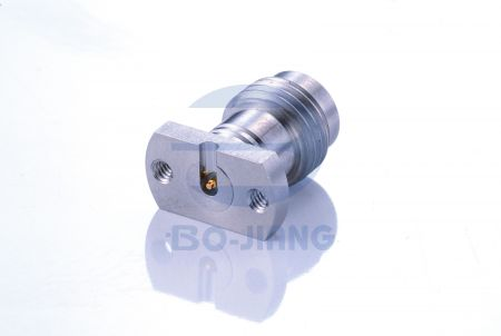 1.85mm Female Solderless PCB Connectors, Mirco Strip Type. - 1.85mm series Mirco Strip type with trench