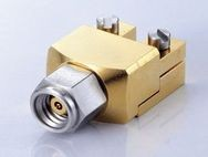 1.0mm PLUG END LAUNCH DC TO 110GHz - 1.0mm Plug solderless End Launch for PCB, DC TO 110GHz
