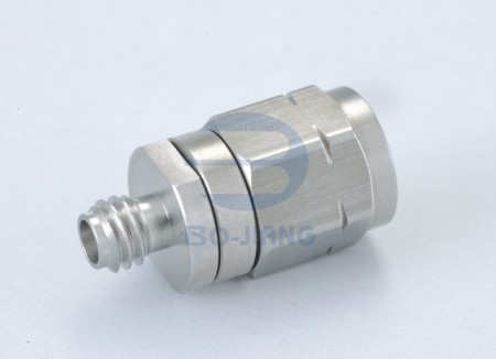 1.0mm FEMALE TO 1.85mm MALE ADAPTOR - 1.0mm Jack to 1.85mm Plug