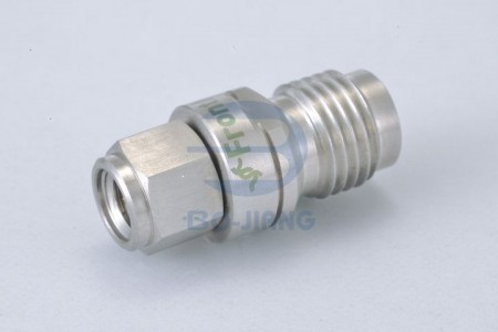 1.0mm MALE TO 1.85mm FEMALE ADAPTOR - 1.0mm Plug to 1.85mm Jack