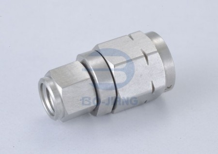 1.0mm MALE TO 1.85mm MALE ADAPTOR - 1.0mm Plug to 1.85mm Plug