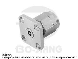 1.85 mm PANEL RECEPT PLUG - 1.85 mm Panel Recept Plug