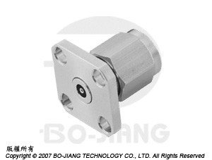 2.4 mm PANEL RECEPT PLUG - 2.4 mm Panel Recept Plug