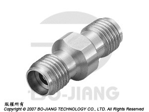 K (2.92 mm) JACK TO JACK ADAPTOR - K (2.92 mm) Jack to Jack Adaptor