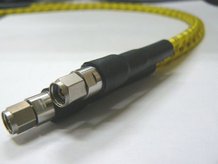 2.4mm Mircowave/RF coaxial series phase and amplitude stable cable assemblies - 2.4mm precision RF coaxial match cable
