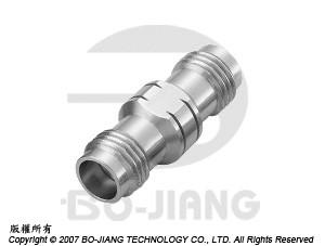 1.85mm Female to Female RF/Microwave Coaxial Adaptors - 1.85mm Jack to Jack Adaptor