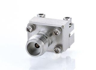 Соединитель запуска с внутренней резьбой 1,85 мм - Гнездо 1,85 мм для беспаечного конца для печатной платы, от постоянного тока до 67 ГГц