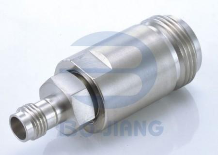 1.85mm Female to N Type Female RF/Microwave Coaxial Adaptor - 1.85.mm Jack to N Jack Adaptor