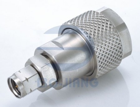 1.85mm Male to N Type Male Adaptor - 1.85mm Plug to N Plug Adaptor