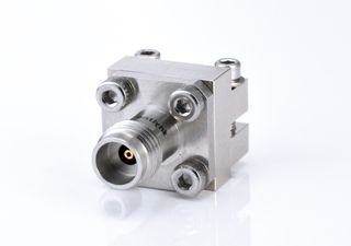 2.4mm Female End Launch Connector - 2.4mm Jack solderless End Launch for PCB, DC to 50Ghz