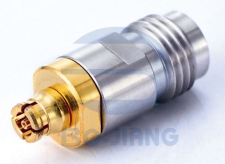 2.4mm Female to SMP Female Adaptor - 2.4 mm Jack to SMP Jack Adaptor